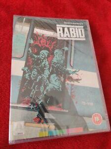 RABID DVD ARROW VIDEO NEW AND SEALED REGION 2