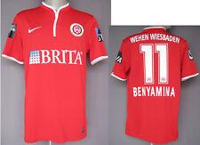 Original match worn Spielertrikot SV Wehen Wiesbaden 2014 Fußball DFB Bundesliga