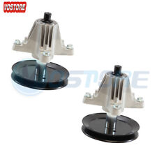"2PK Spindle Assembly for MTD 618-06991 918-06991 42"" Deck"