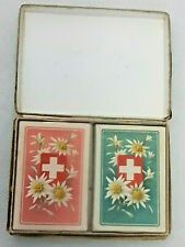 More details for playing cards patience karten 190 b.dondorf frankfurt twin pack vintage *rare*