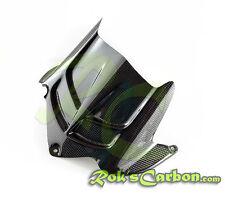 Carbon Hiterradabdeckung lang rear hugger Kawasaki ZX-6R 2009