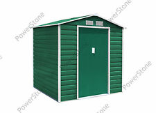 New Metal Garden Shed 7*4FT (EvanA) Outdoor Storage With Foundation