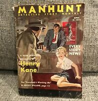 vintage crime magazine