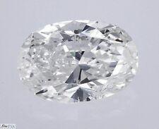 Oval Cut Diamond Loose Real 100% Natural IGI Cert 1.00 Carat G SI2 Actual Stone