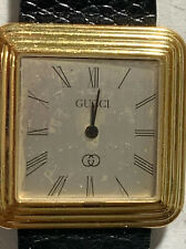 WATCH BLOWOUT: Vintage Women's GUCCI Watch Tested WORKS RFT-85