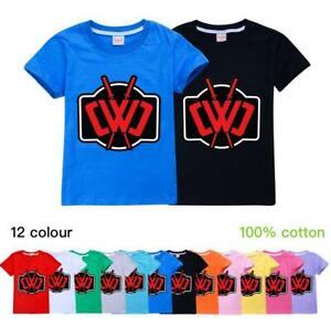 Chad Wild Clay Unisex Boys Kids Girls Fashion Cotton T-Shirt Short Sleeved Top