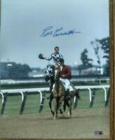 Secretariat signed photograph 11x14 Ron Turcotte autograph