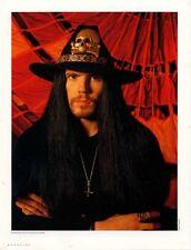 Cult The Ian Astbury April 1989 Magazine Photo