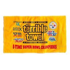 Pittsburgh Steelers Terrible Towel 6X super bowl champions