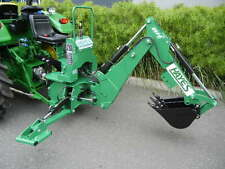 HAYES TRACTOR PTO BACKHOE 3 POINT LINKAGE MEDIUM - INCLUDES BUCKET AND THUMB