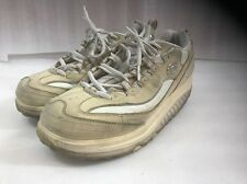 Sketchers Shape Ups Sn11800 8.5 Tan With White Bling