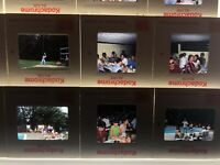 Lot of 18 Company Picnic Slides 1970s 35mm Vtg Baseball Elco Outdoor Games Work