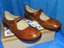 L.L. BEAN WOMEN'S FORE STREET BROWN LEATHER COMFORT CASUAL MARYJANE SHOE SZ 8.5