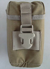 New USMC Surplus Tan Padded Pouch Case with MOLLE fasteners Good 4 General Use