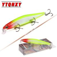 Hot Minnow Fishing Lure Laser Sinking Crankbait Professional Crank for bass pike