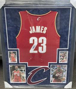 LeBron James Signed / Framed Cleveland Cavaliers Jersey UDA/JSA LOA #23 Lakers !
