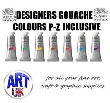 Winsor & Newton DESIGNERS GOUACHE professional artists watercolour paint colour