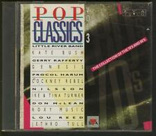 POP CLASSICS-3 CD Kate Bush Genesis Focus JethroTull  Procol Harum Cockney Rebel