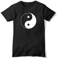 Yin Yang Mens Funny Unisex T-Shirt