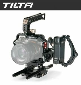 Tilta SONY A1 Camera Cage Rig for Sony a1 a7SIII a7R III a7R4 a7III TA-T23-A-B