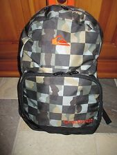 NWT QUIKSILVER ~Full Size~ Camo Backpack School, Skate, Surf-Laptop!