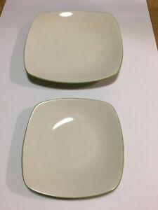 Noritake Colorwave Apple Square  Dinnerware  2 pieces Salad & Dinner Plate 8094