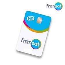 CARTE FRANSAT HD  PC 7 Nouvelle génération Neuve valable 4 ans ,sous blister.