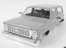 RC4WD Scale 1/10 Truck Body Shell CHEVY BLAZER Hard Body w/ INTERIOR -PRIMED-