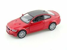 "Brand New 5"" Kinsmart BMW M3 Coupe E92 Diecast Model Toy Car 2 Door 1:36 Red"