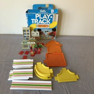 Vintage Matchbox 1978 Play Track PL-1 Complete. Damaged Box