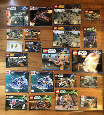 Lego Instruction Manuals Star Wars Bulk Lot 381
