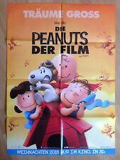 Filmposter * Kinoplakat * A1 * Die Peanuts - Der Film * 2015