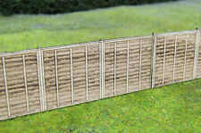 Gaugemaster Wooden Fencing Laser Cut Kit 451 Oo Scale (suit Ho also)