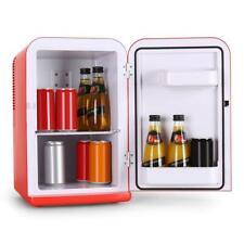 Glacière Design Mini Frigo Réfrigérateur Branchement Allume Cigare - 15L Rouge