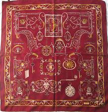 -Superbe Foulard  ZENITH   100% soie  TBEG vintage scarf