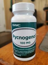 GNC Pycnogenol 100 MG - 30 Capsules - Sealed