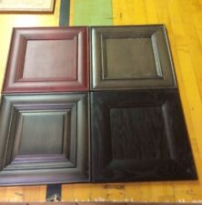 FOUR Kitchen Cabinet Sample Doors Great for Art work or Signs