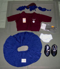 Vintage 1996 Tender Heart Treasures School Girl Outfit , Doll Clothes