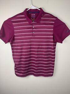 Adidas Climacool-Golf-Polo T-Shirt-men's Size Medium-fantastic Condition