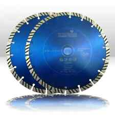 2 Stück Diamant-Trennscheibe Diamantscheibe Ø 230 mm NORDMANN N10 für Bosch Flex