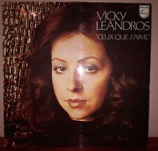 VICKY LEANDROS - CEUX QUE J'AIME - VINILE 33 GIRI USATO IN BUONE CONDIZIONI 1973