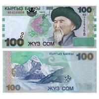 Pick 21 Kirgisien / Kyrgyzstan  100 Som 2002  Unc. / 6132287vvv