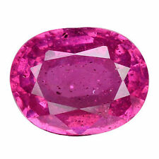 Mozambique Slight Oval Loose Natural Rubies