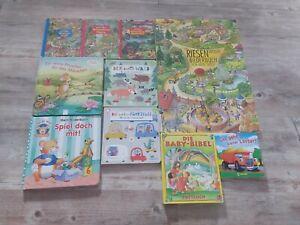 10 tlg.Set/Paket Bücher Wimmelbücher usw. Kinderbücher Kleinkinder Konvolut