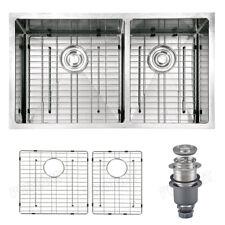 Primart 33 X 19 inch 16 Gauge  Double Stainless Steel Undermount Kitchen Sinks