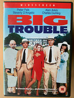 Big Trouble DVD 1985 Cult Cassavetes Comedy Classic starring Peter Falk