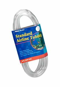Penn Plax Airline Tubing for Aquariums –Clear and Flexible Resists Kinking, 8...
