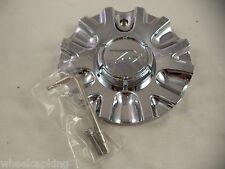 Zinik Wheels Chrome Custom Wheel Center Caps # Z15 / MS-CAP-Z170 VERONA (1 CAP)