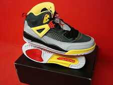 new concept 0375f 3a97d Air Jordan Spizike Black Challenge Red Tour Yellow Silver Size 10