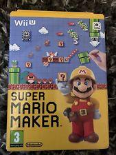 Super Mario Maker & Artbook (Nintendo Wii U, 2015) Brand New And Sealed